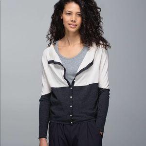 Lululemon After Class Cardigan Sweater
